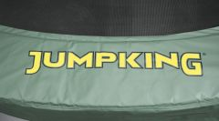 12ft JumpPOD Classic Surround Pad - Green Vinyl