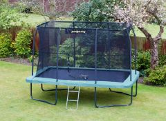 8ft x 12ft Rectangular JumpKing Trampoline