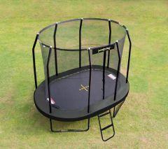 m50 x 2m40 Oval JumpPod Trampoline