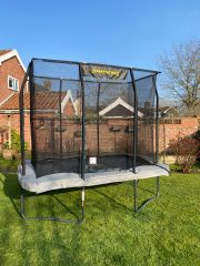 1m80 x 2m75 JumpKing Rectangulaire Professional Trampoline
