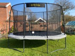 3m x 2m20 JumpKing Ovale Professional Trampoline