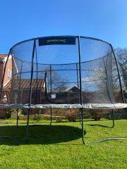 2m75 x 4m JumpKing Ovale Professional Trampoline