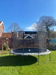 3m50 x 2m40 JumpKing Ovale Professional Trampoline