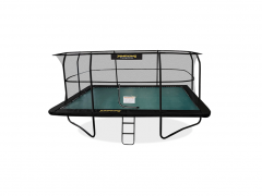 4m30 x 3m JumpKing Rectangulaire Deluxe Trampoline
