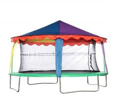 7ft x 10ft Oval Circus Tent Canopy