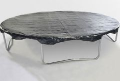 10ft x 15ft Oval trampoline - Example of round cover