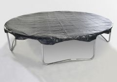 7ft x 10ft Oval Trampoline Cover - Example of round cover
